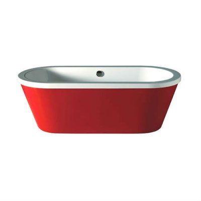 halcyon freestanding round red