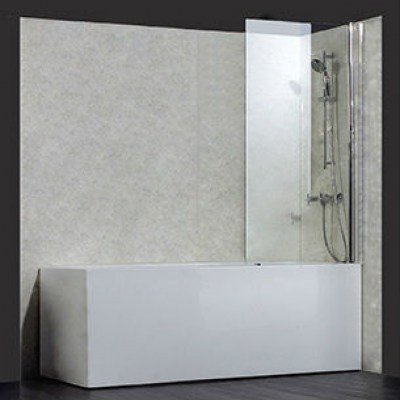 6mm square bath screen